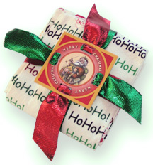 Fobbie Wrap Holiday Towels