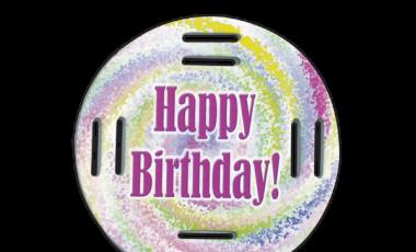 Happy Birthday Swirl