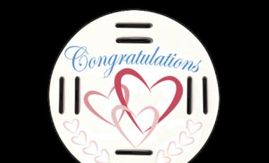 Congratulations Hearts