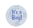 It's A Boy Fobbie