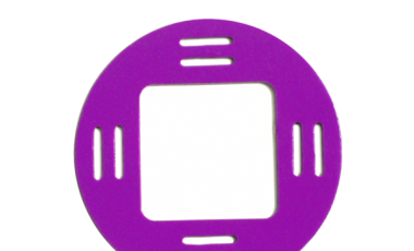 Purple Picture Frame Fobbie